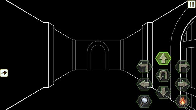 戦闘の監獄-線画